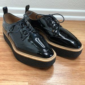 Black Platform Dress Shoe